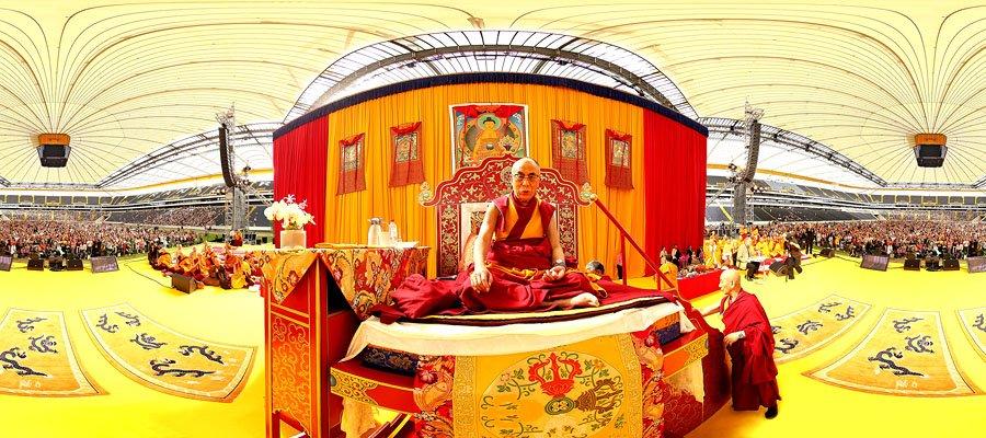 360 Grad Dalai Lama